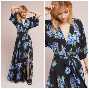 NWT Anthropologie Yumi Kim Kimono Maxi Dress